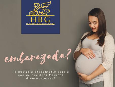 ¿Estás embarazada?