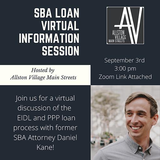 SBA Loan Virtual Information Session (1)