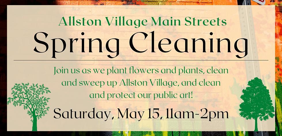 Allston Village Main Streets Spring Clea