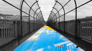 The Chroma Line: A Curated Art Walk Across the Franklin Bridge