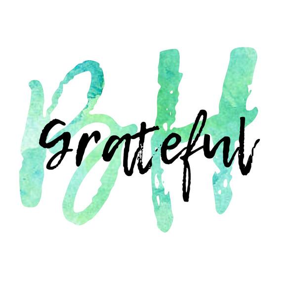 gratitude...