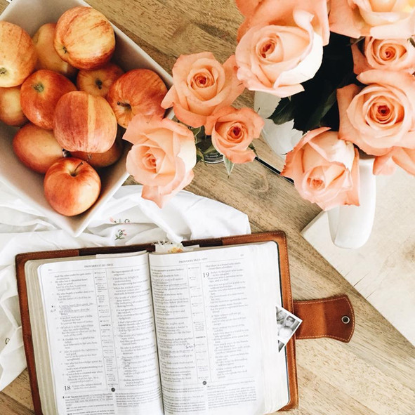 a simple morning bible study routine...