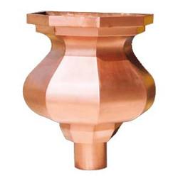 Custom Copper Leader Head