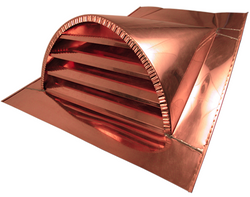 Copper Dormer Vent
