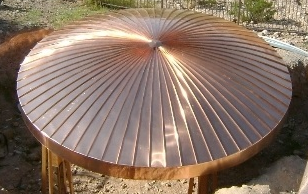 Copper Dome Roof