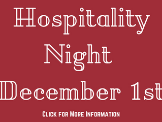 Laguna Beach Hospitality Night event is scheduled for Friday, December 1