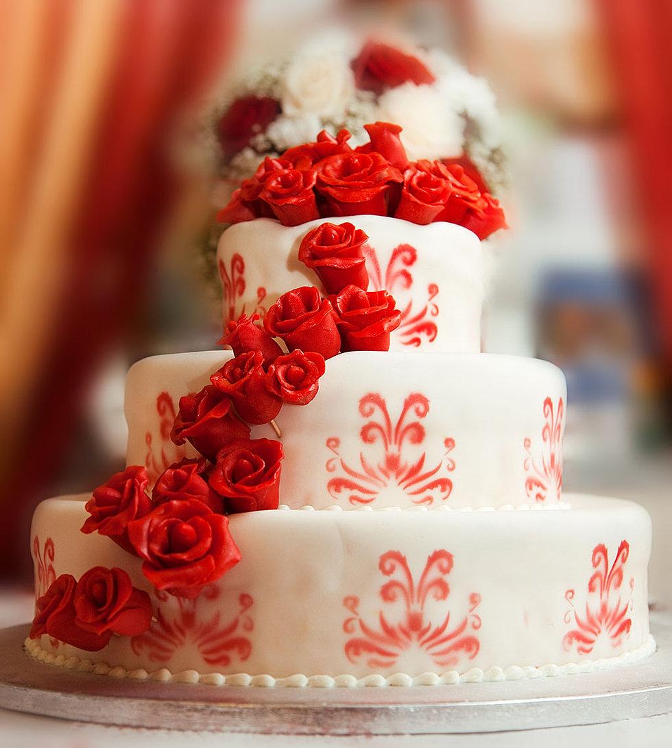 Приятному, открытки с днем рождения торт с розами