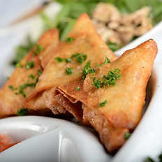 Vegetarian Samosa (Sambooseh)