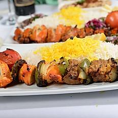 Beef & Chicken Shish Kabob