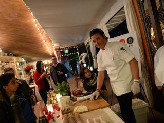 C'est la vie Restaurant and Bakery sponsored Eric Burdon and the Animals concert at Laguna Beach