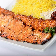 Chicken Soltani Kabob