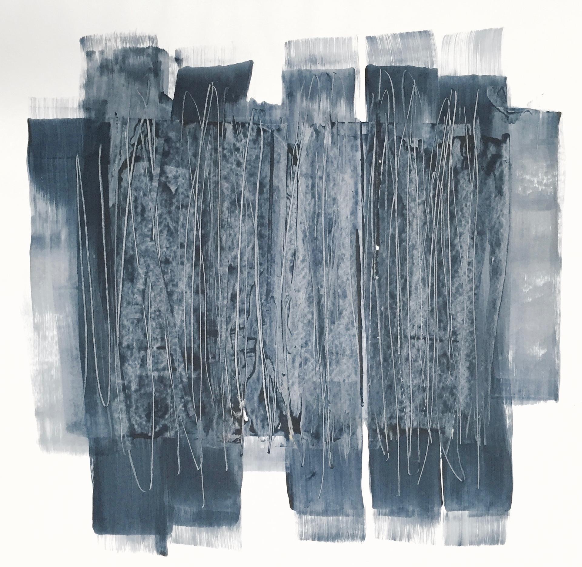 Blue Scarves