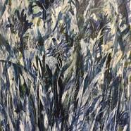 Blue Flowers Series #8