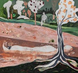 Saving Ophelia, 2020, Acrylic on canvas, 170x160 cm