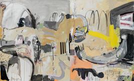 Habitat, mixed media on canvas, diptych, 140x230 cm