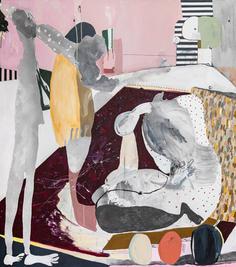 Enchanted, 2020, acrylic on canvas, 180x160 cm