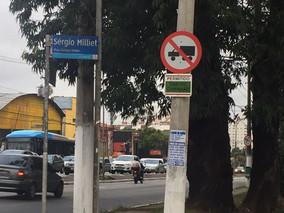 Nova sinalização de tráfego começa a ser implantada no Marajoara