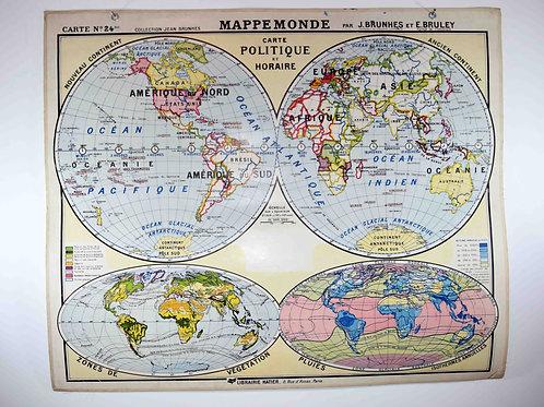 #24 -Mappemonde