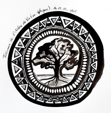 Talisman de l'arbre de vie (en afrique)