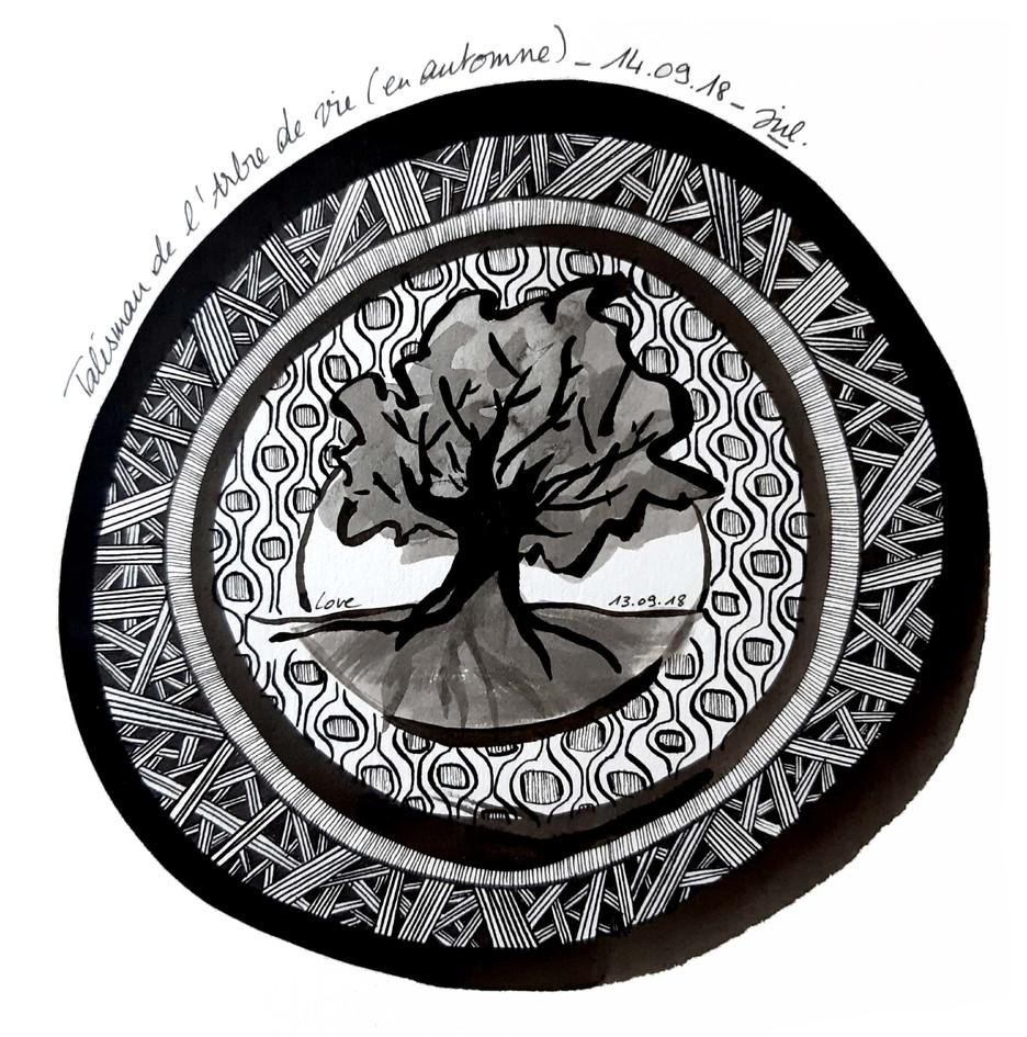 Talsiman de l'arbre de vie (en automne)