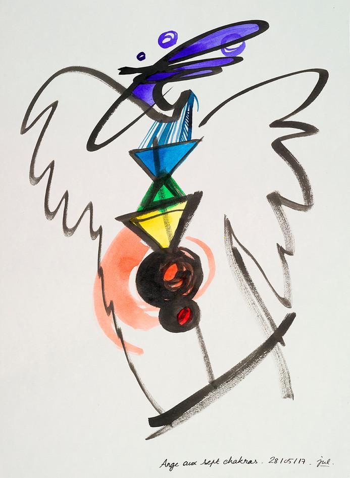 Ange aux sept chakras (7/15)