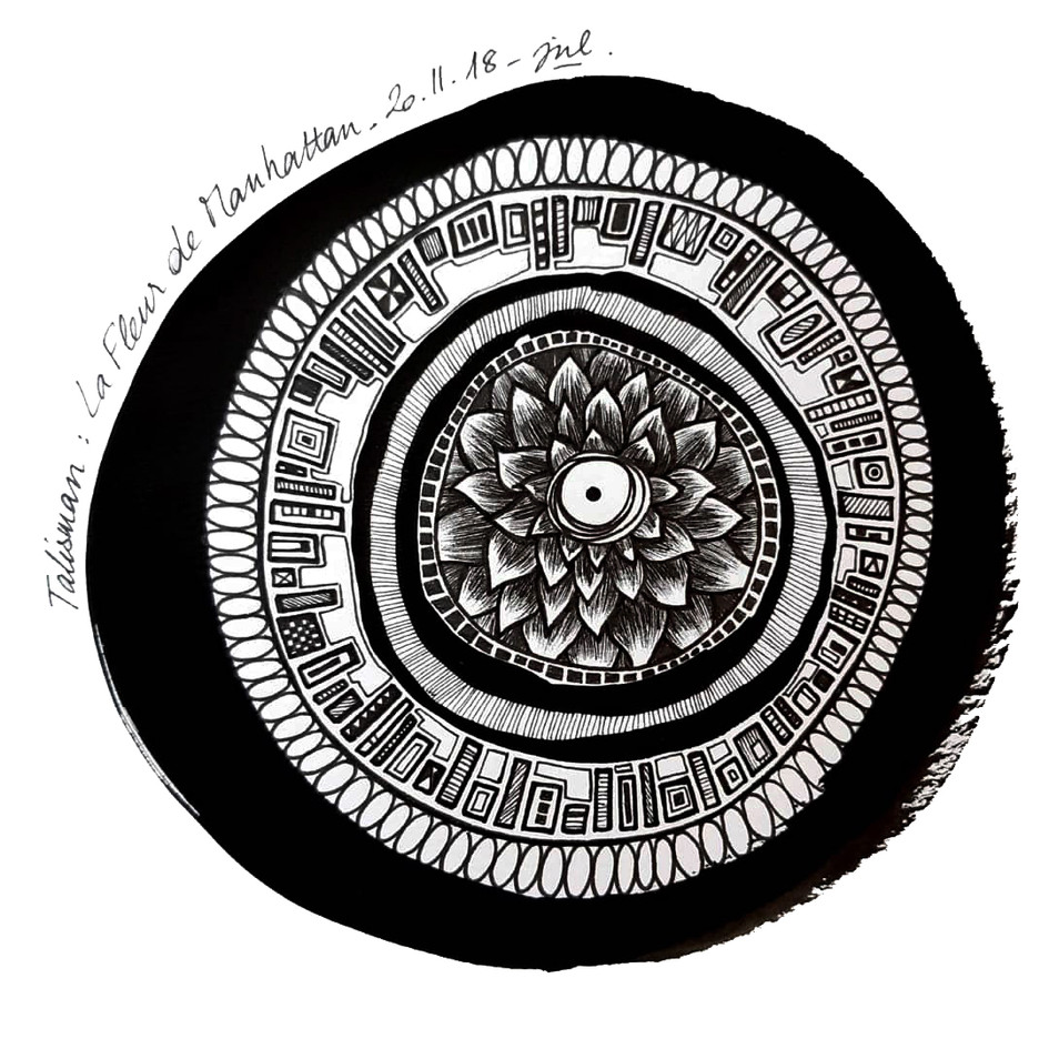 Talisman de la fleur de Manhattan