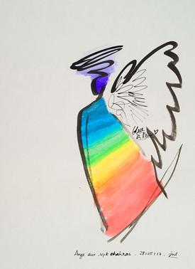Anges aux sept chakras (4/15)