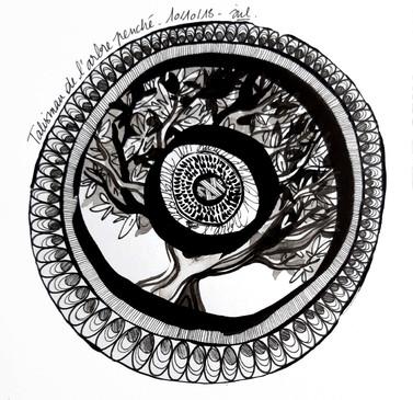 Talisman de l'arbre penché