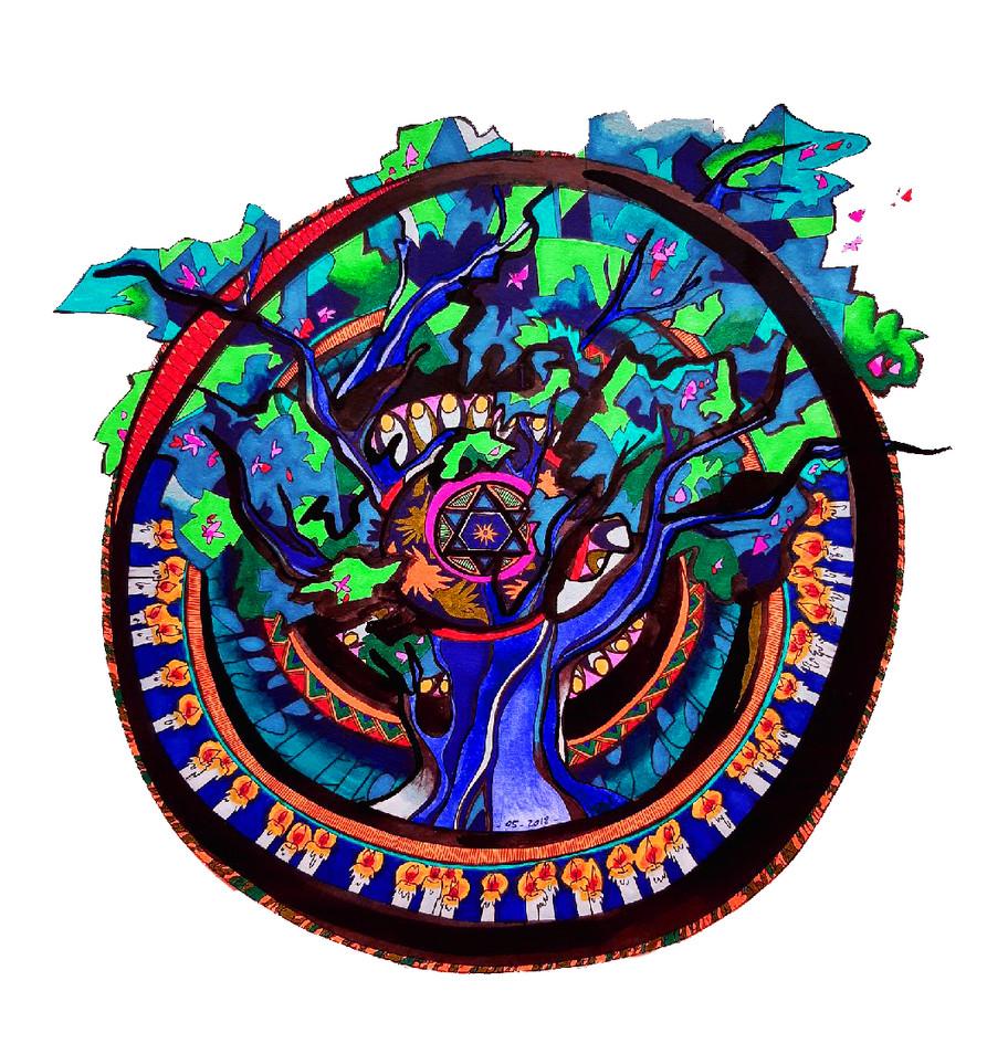Mandala pour Charlotte