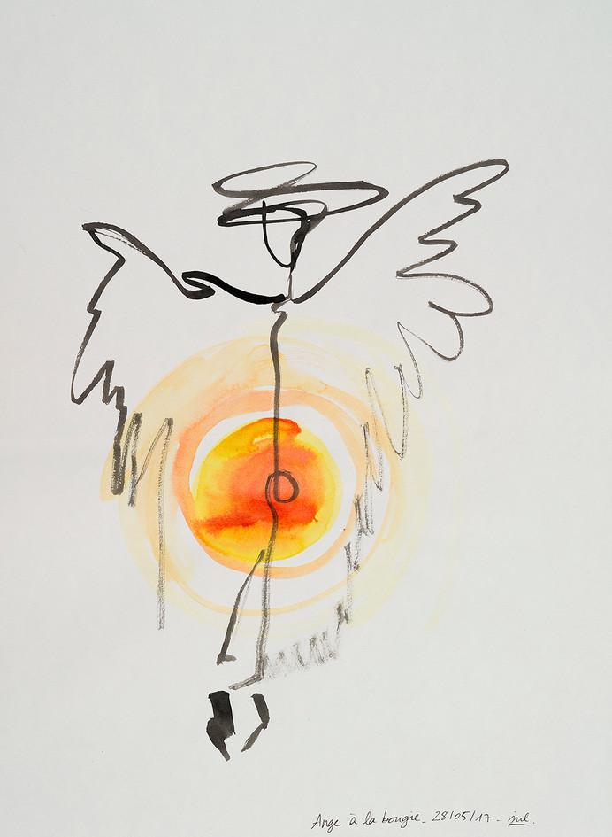 Anges aux sept chakras (1/15) - L'Ange bougie