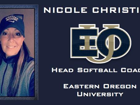 Nicole Christian Returns to Eastern Oregon University as Head Coach