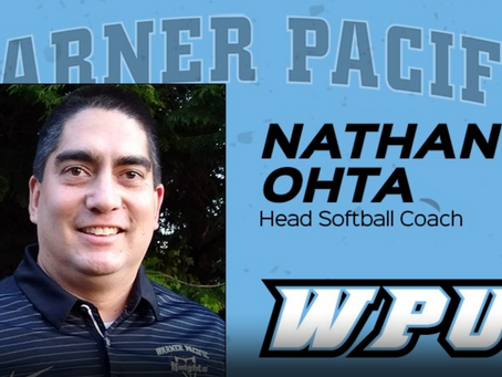 Ohta Hired to Lead Start-Up Softball Program at Warner Pacific University