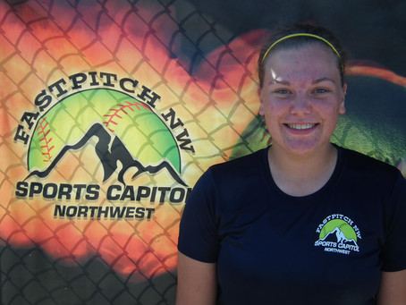 Barker Sets Fastpitch NW Record at 80 mph
