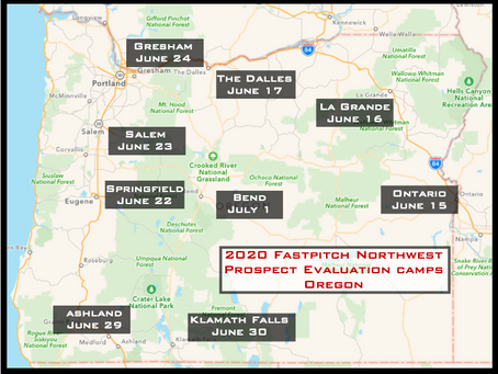 2020 Oregon State Player Evaluation Camps Announced