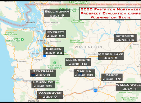 2020 Washington State Player Evaluation Camps Announced