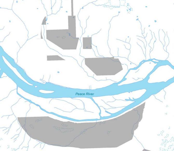 Site C ALR Land Exclusion Maps