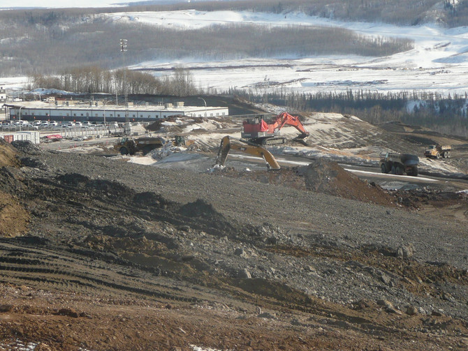 Problems with the Left Bank at Site C