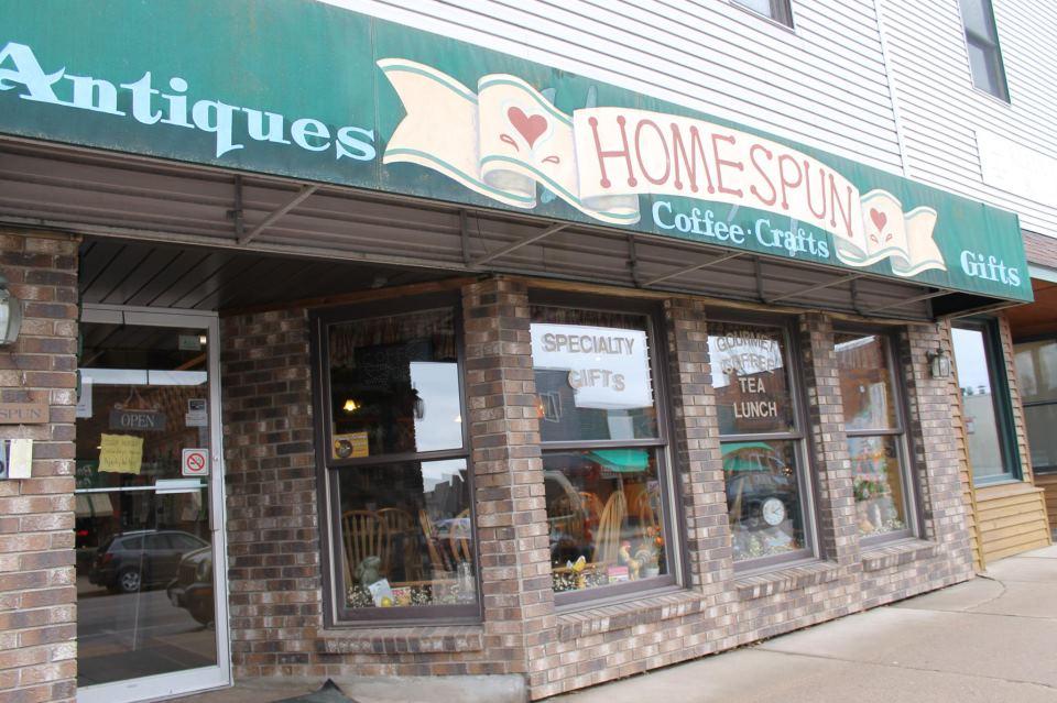 Homespun Phillips Store front