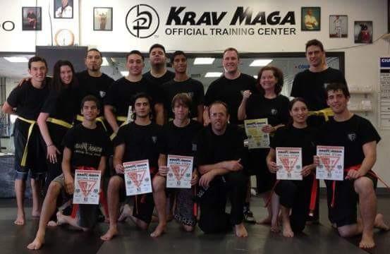 Burbank Krav Maga Yellow Belt Test June of 2012 with Chris Crouch, John Veverka, and Grant Cogswell.