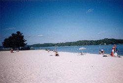 Claytor Lake Beach