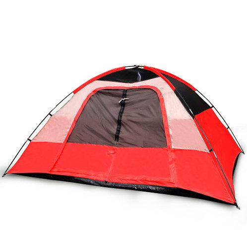 5 Person Camping Tent, Red