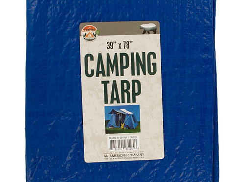 Multi-Purpose Camping Tarp (6 pc. set)