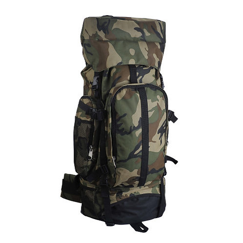 """Camouflage 30"""" Hiking/Camping Water-Resistant Mountaineer's Backpack"""