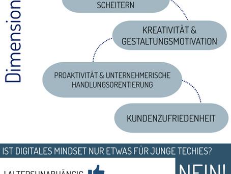Infografik Digitales Mindset