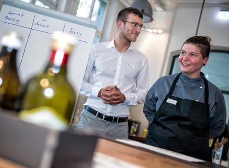 Agile Kitchen im Rahmen von #nuedigital