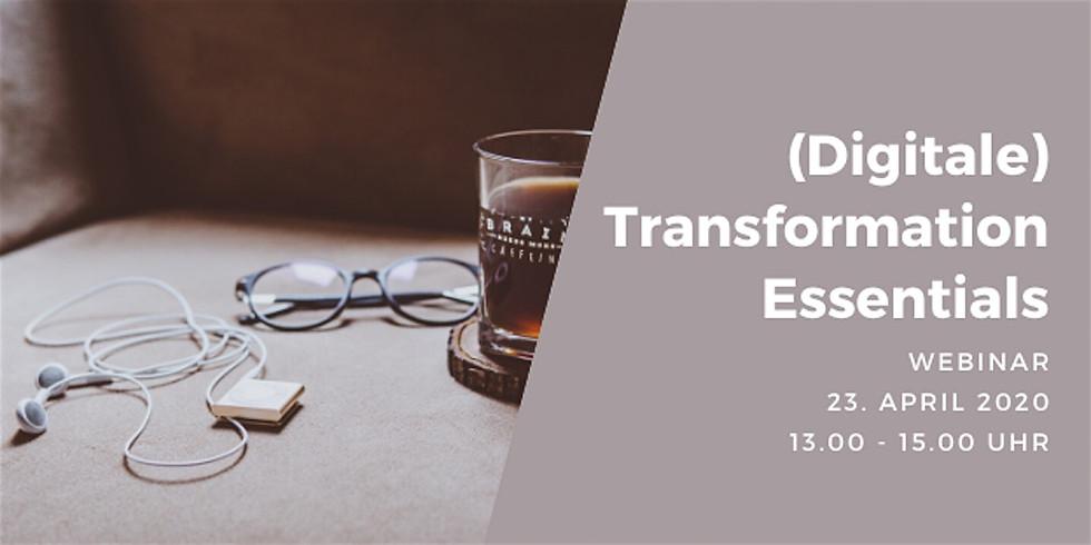 Webinar - (Digitale) Transformation Essentials