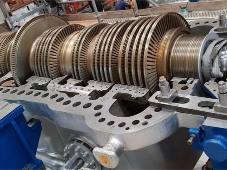 Eingehäusige Entnahme-Gegendruck Turbine | Single casing backpressure turbine