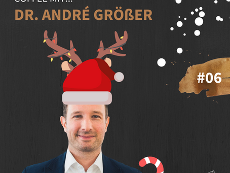 Dr. André Größer im Mindset Coffee Podcast