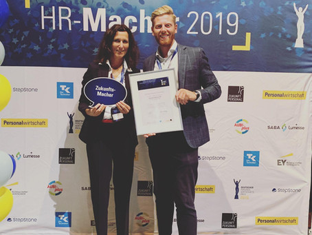 ONESTOPTRANSFORMATION beim deutschen Personalwirtschaftspreis ausgezeichnet