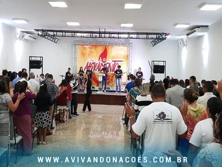 PODER DE DEUS manifesto na CONFERÊNCIA UNÇÃO E AVIVAMENTO